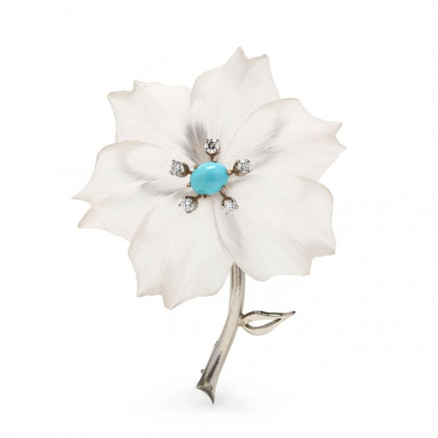 14kt-white-gold-rock-crystal-turquoise-and-diamond-brooch