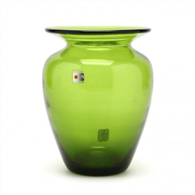 blenko-modern-baluster-glass-vase