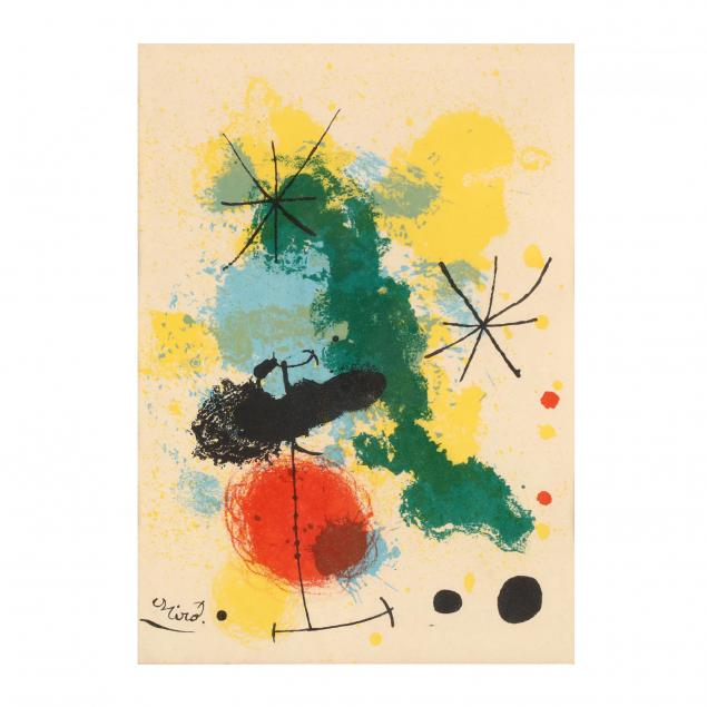 joan-miro-spanish-1893-1983-lithograph-frontispiece-for-i-prints-from-the-mourlot-press-i
