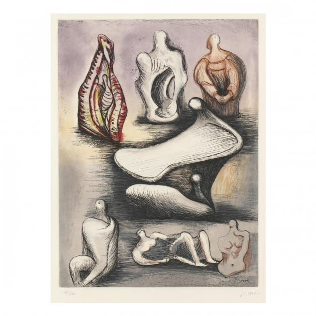 henry-moore-british-1898-1986-i-seven-sculpture-ideas-ii-i