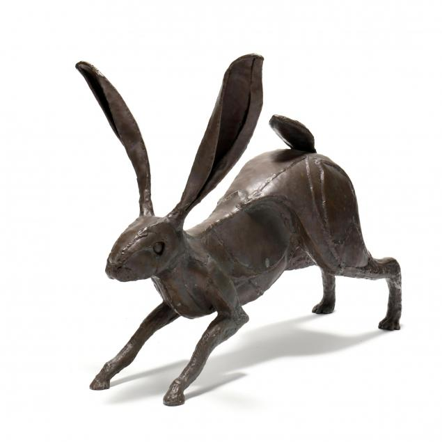karen-paden-crouch-nc-welded-bronze-rabbit-sculpture