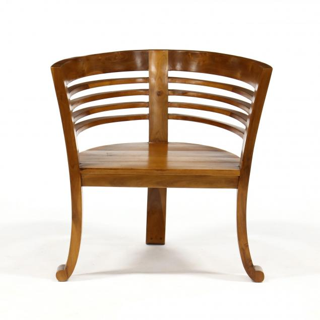 contemporary-teak-club-chair