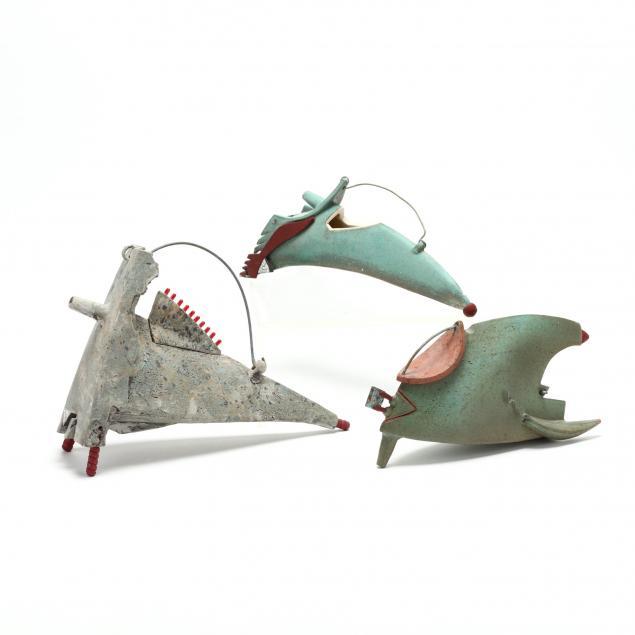 kathy-triplett-weaverville-nc-three-ceramic-teapot-interpretations