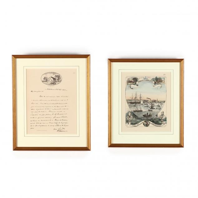 two-1876-centennial-lithographs-pertaining-to-wilmington-north-carolina