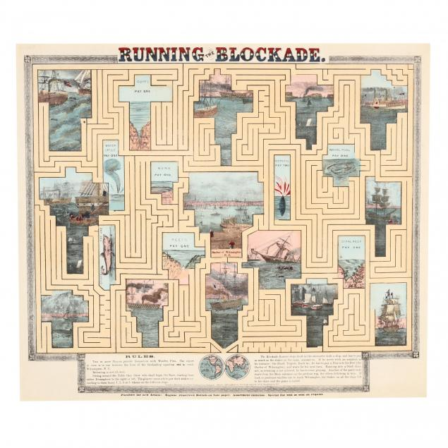 civil-war-era-board-game-lithograph-i-running-the-blockade-i