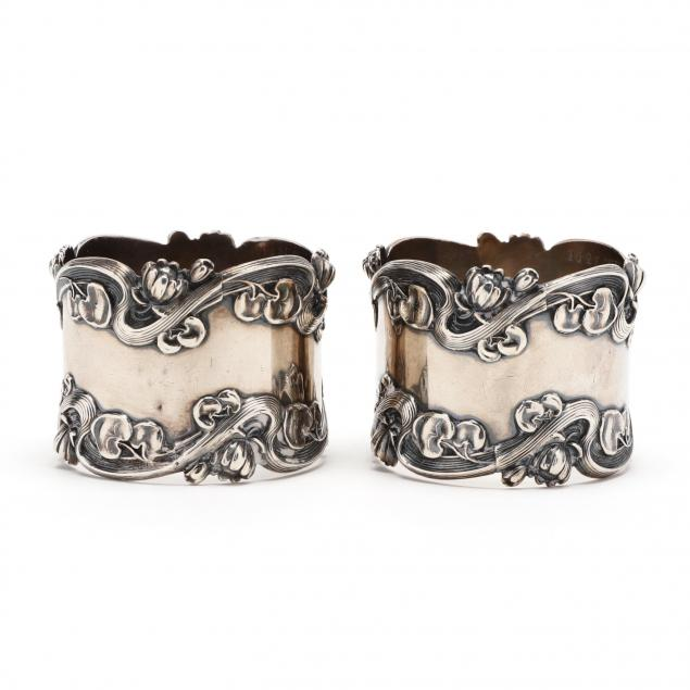 pair-of-art-nouveau-sterling-silver-napkin-rings