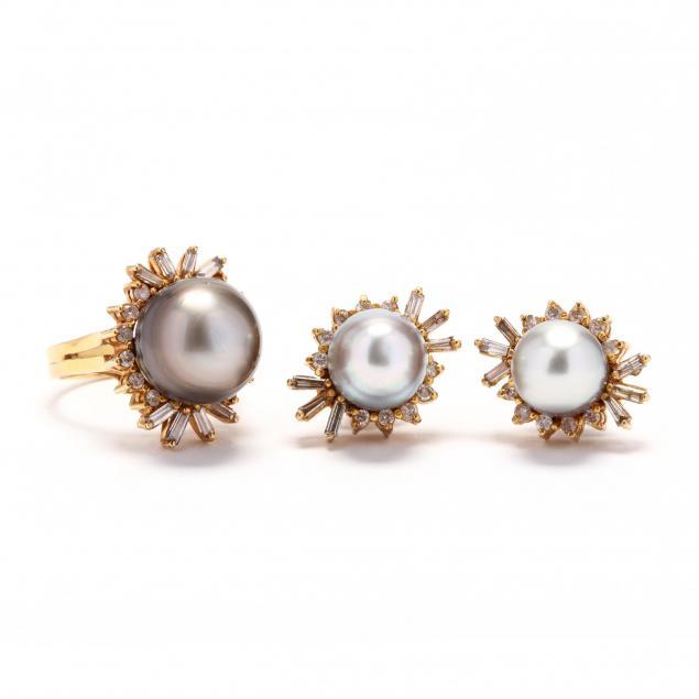 gold-tahitian-pearl-and-diamond-demi-parure