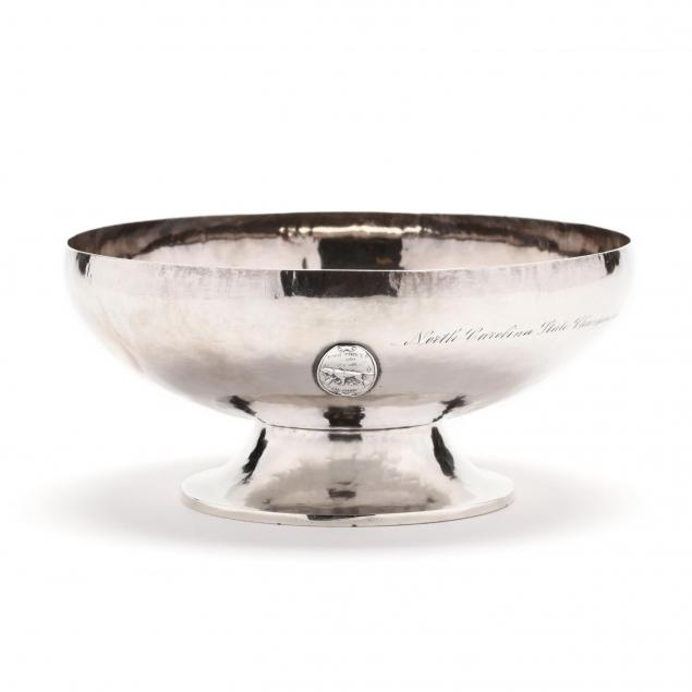 dodge-sterling-silver-trophy-bowl-for-pinehurst-gun-club