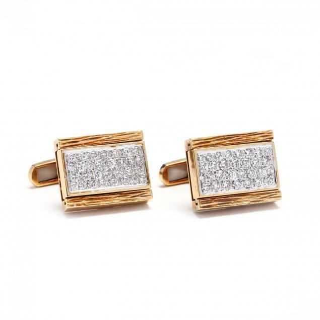 18kt-gold-diamond-and-tiger-eye-quartz-reversible-cufflinks