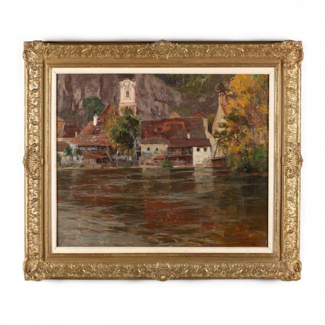 robert-franz-curry-1872-1945-lakeside-village-with-onion-domed-church