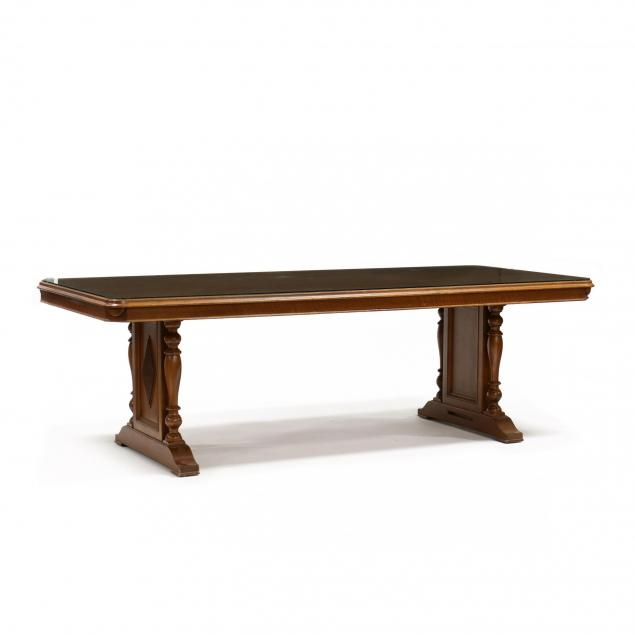 continental-style-carved-walnut-conference-table