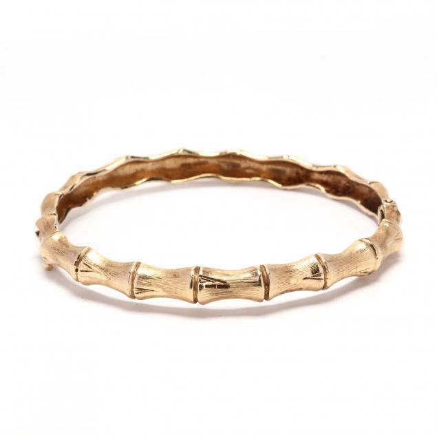 14kt-gold-bamboo-bangle-bracelet