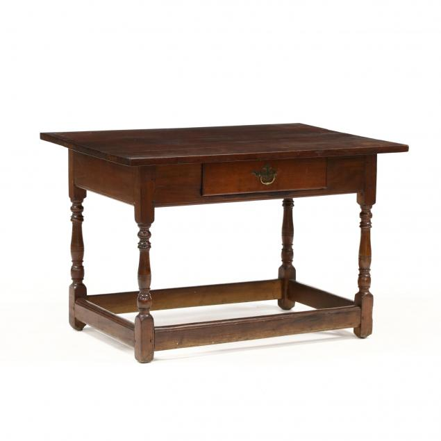 southern-walnut-one-drawer-tavern-table