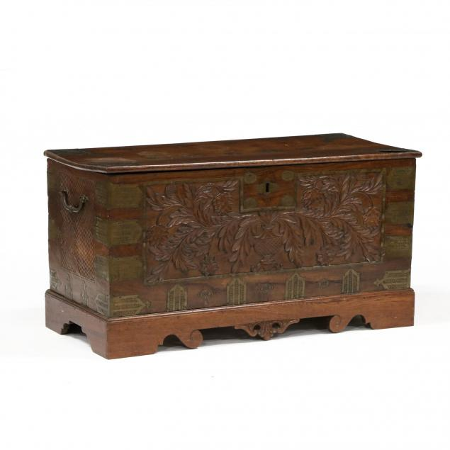 antique-southeast-asian-carved-teak-blanket-chest