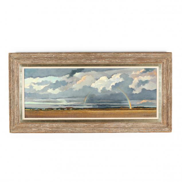 eric-sloane-ny-ct-1905-1985-i-end-of-the-prairie-storm-i