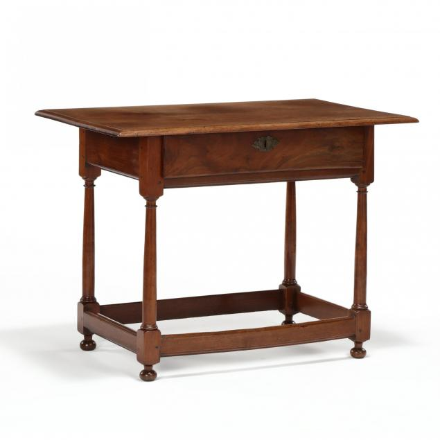 pennsylvania-william-and-mary-walnut-stretcher-base-tavern-table