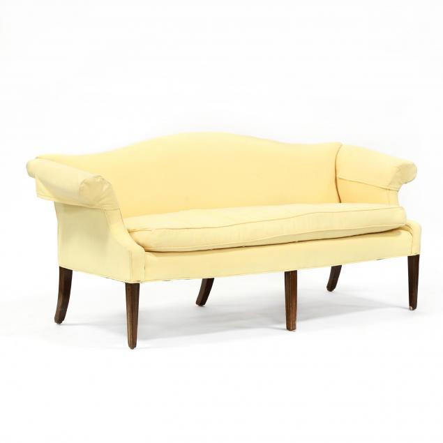 southern-federal-mahogany-camelback-sofa