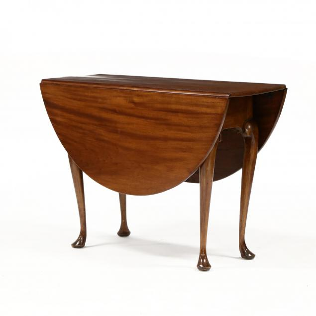 southern-queen-anne-mahogany-drop-leaf-table