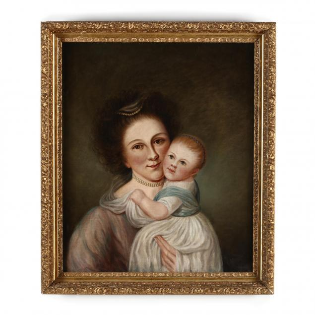 anna-peale-sellers-1824-1905-mrs-charles-willson-peale-rachel-brewer-and-baby-eleanor