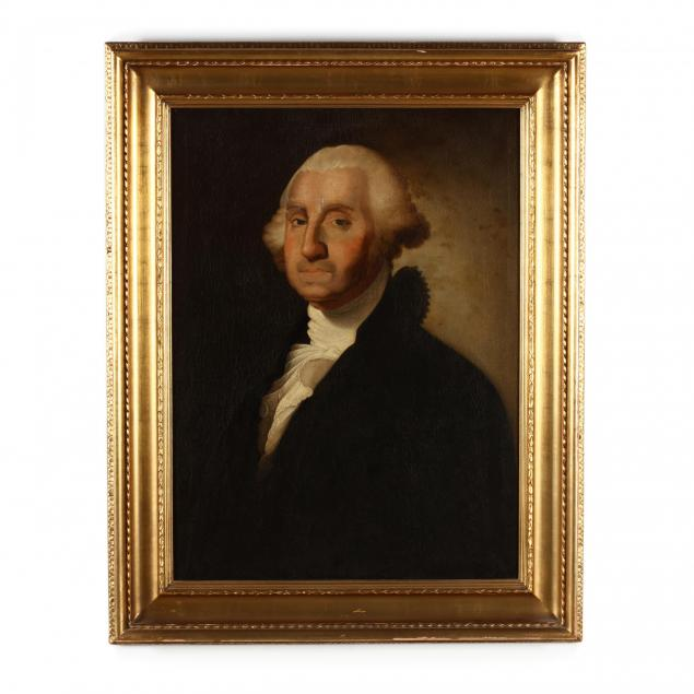 antique-portrait-of-george-washington-after-gilbert-stuart