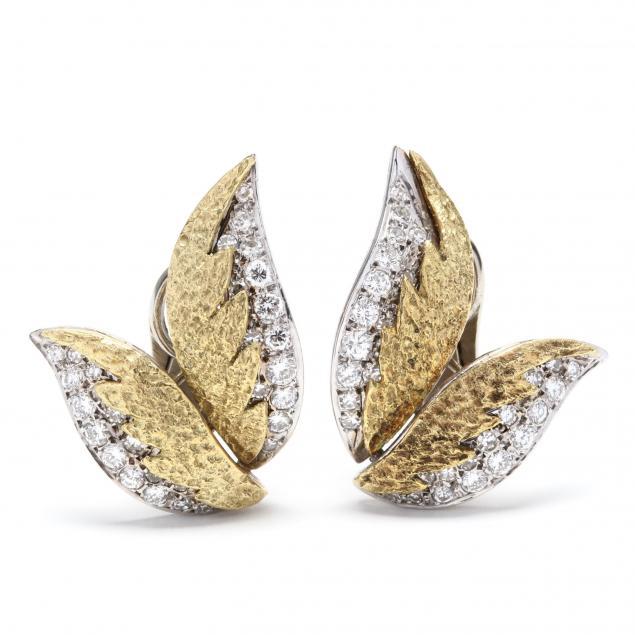 18kt-bi-color-gold-diamond-earrings