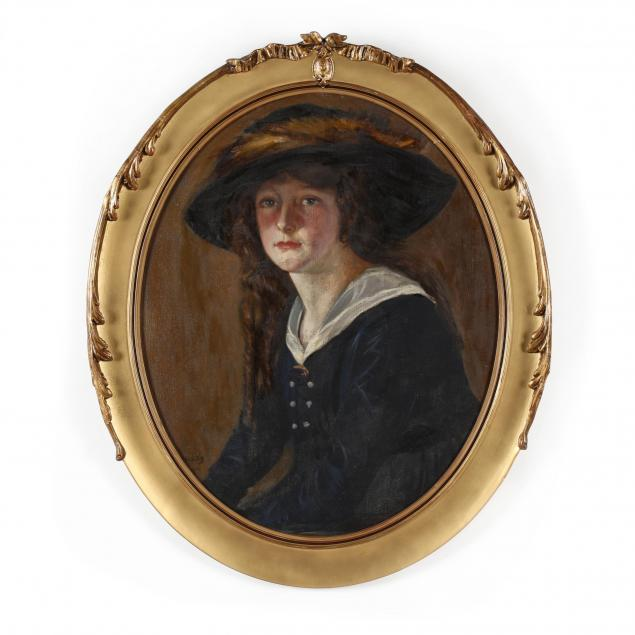 george-charles-aid-american-1872-1938-portrait-of-a-young-woman