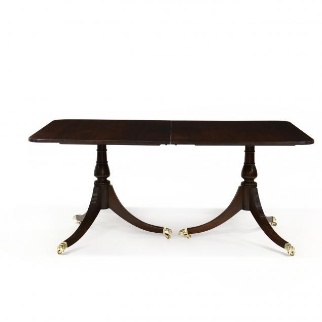 georgian-style-double-pedestal-mahogany-dining-table