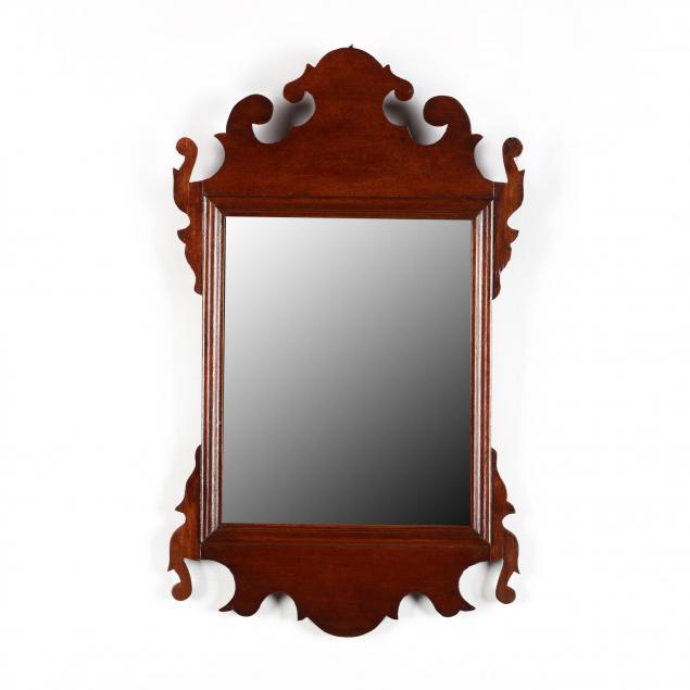 diminutive-chippendale-mahogany-mirror