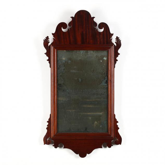 philadelphia-chippendale-mahogany-wall-mirror