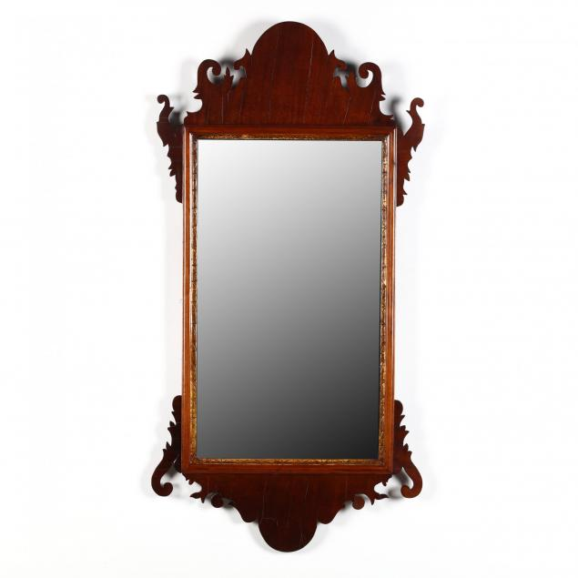 rhode-island-chippendale-mahogany-wall-mirror