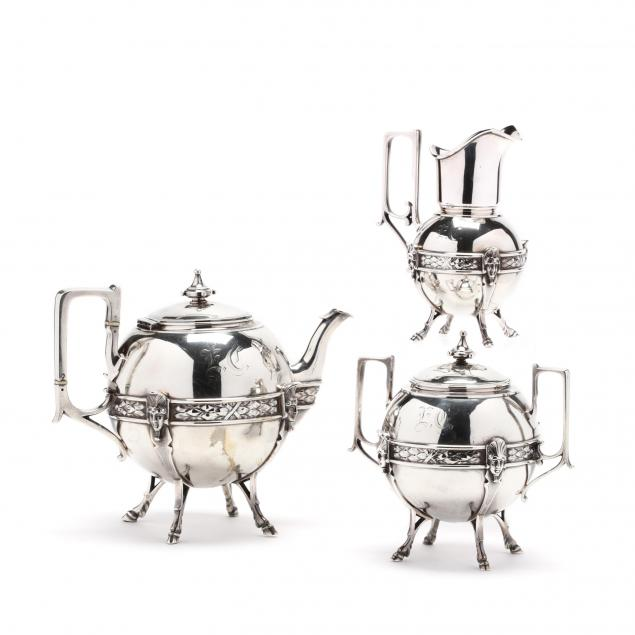 grecian-revival-sterling-silver-tea-set-william-gale-jr