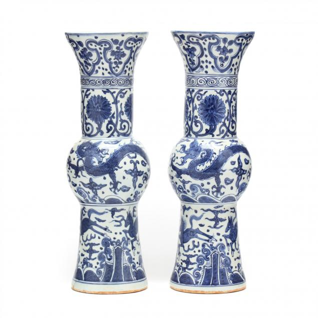 a-pair-of-chinese-blue-and-white-porcelain-gu-vases