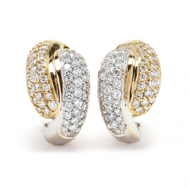 18kt-bi-color-gold-and-diamond-ear-clips