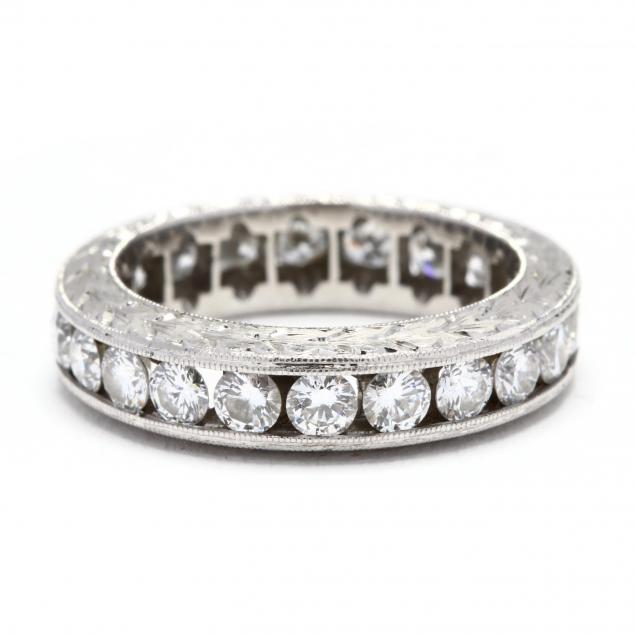 platinum-and-diamond-eternity-band