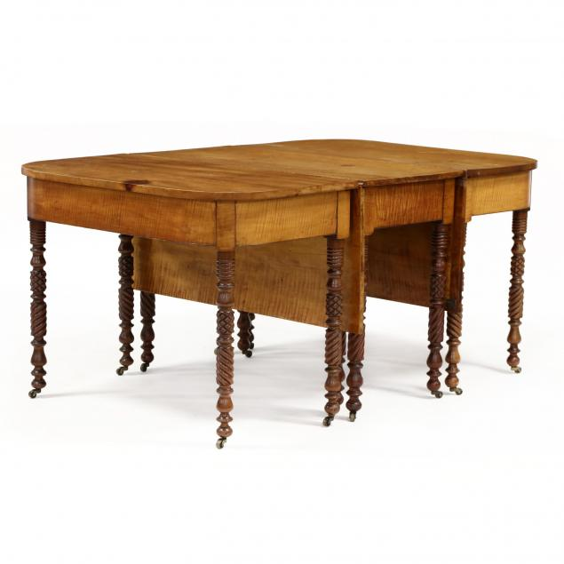 american-sheraton-tiger-maple-drop-leaf-banquet-table