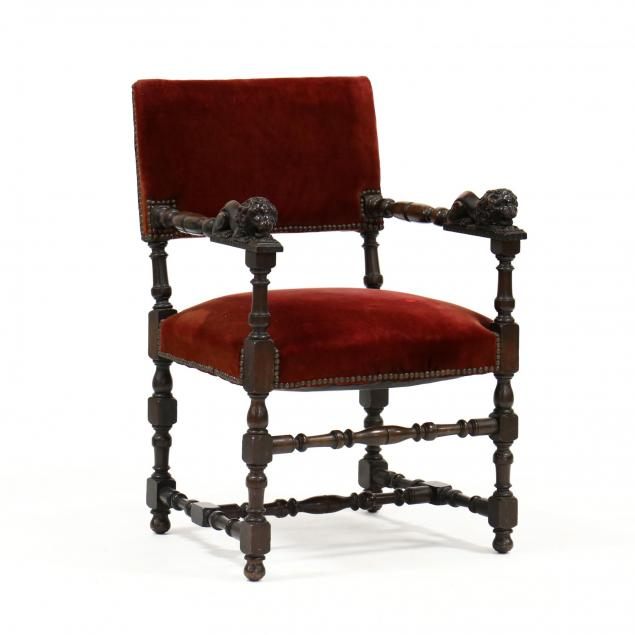 continental-carved-walnut-armchair
