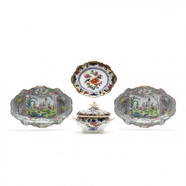 three-pieces-of-antique-english-porcelain-transferware