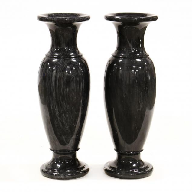 pair-of-large-carved-and-polished-marble-floor-vases