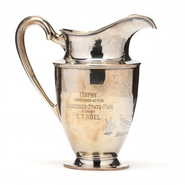 a-sterling-silver-american-saddle-horse-trophy-pitcher