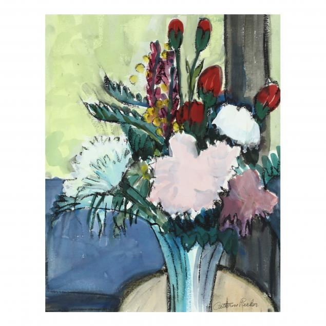 catherine-burchfield-parker-ny-1926-2012-floral-still-life