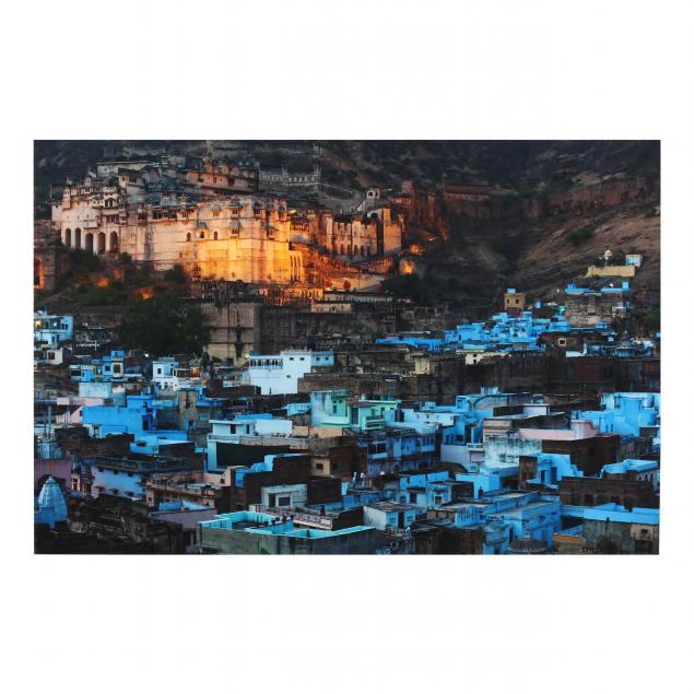 alex-treadway-british-20th-21st-century-i-blue-bundi-rajasthan-india-2012-i
