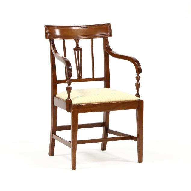 late-federal-carved-mahogany-armchair