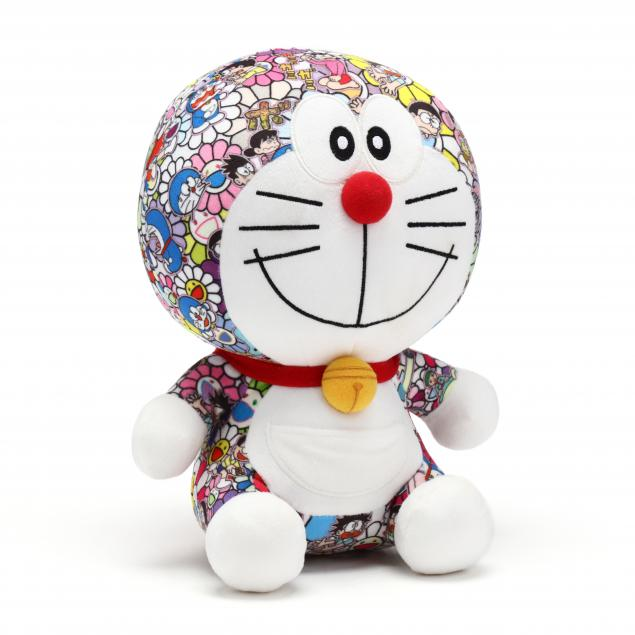 takashi-murakami-x-uniqlo-doraemon-plush-toy