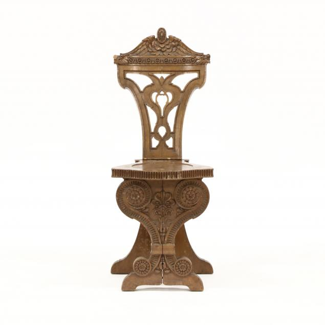 antique-continental-carved-oak-side-chair