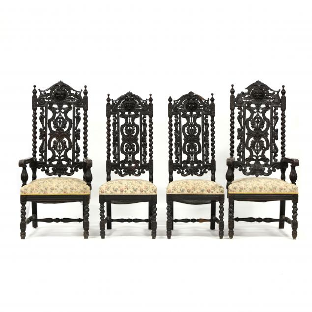 set-of-four-renaissance-revival-carved-oak-dining-chairs