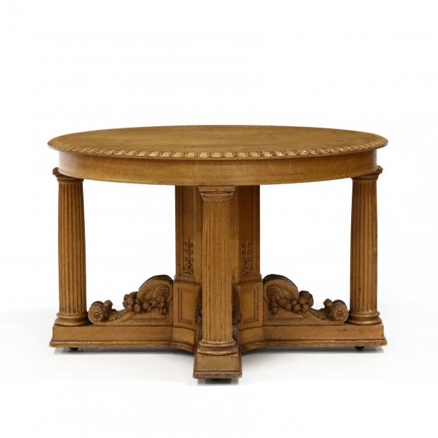 att-r-j-horner-co-carved-oak-center-table