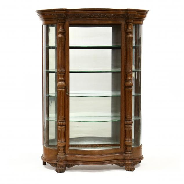 labeled-r-j-horner-co-carved-oak-bowfront-china-cabinet