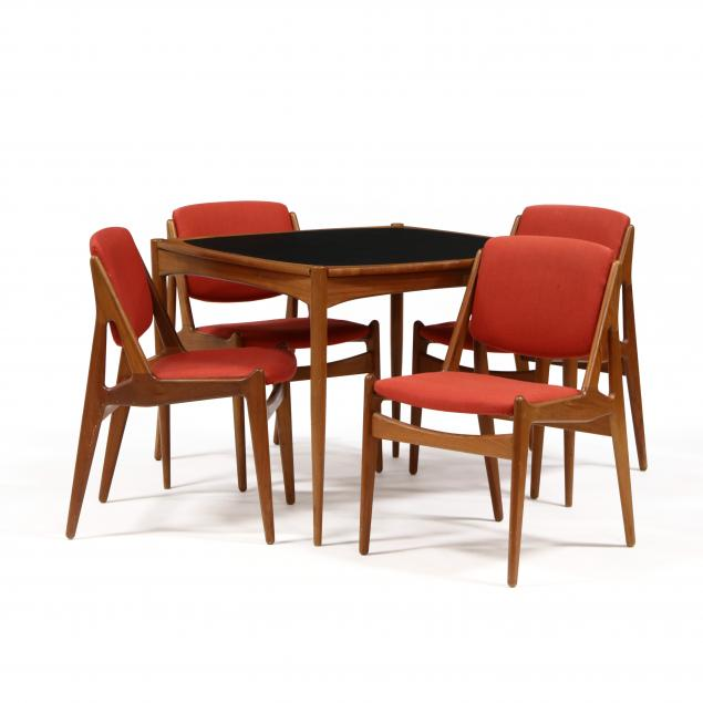 att-arne-vodder-danish-modern-teak-dining-table-and-four-chairs