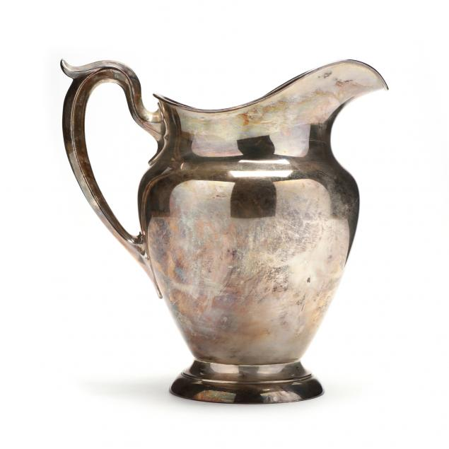 gorham-sterling-silver-water-pitcher