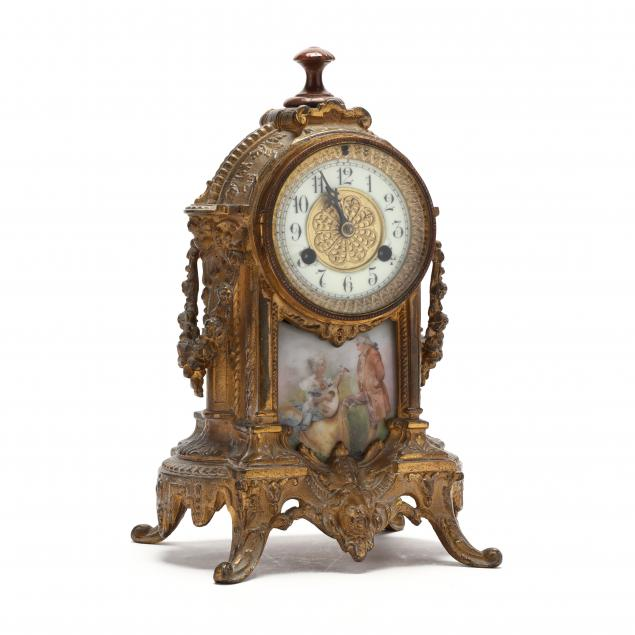 waterbury-clock-co-louis-xv-style-porcelain-and-gilt-metal-clock